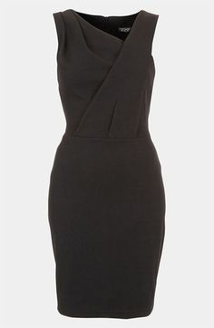 Topshop Pleated Bodice Dress available at #Nordstrom