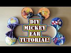 27d532c62 Disney Crafting: How to Make Mickey Ears - DIY Tutorial No Sew Step by Step  Process
