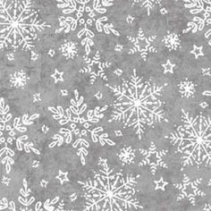 Holiday Frost by Henry Glass and Co, Christmas Fabric, Snowflake Fabric, 1 yard fabric