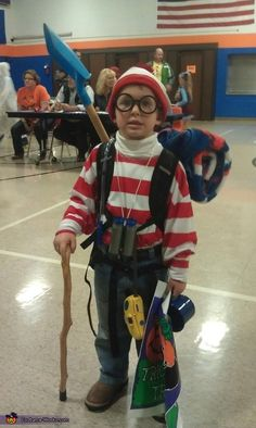 Waldo Homemade Costume - 2013 Halloween Costume Contest