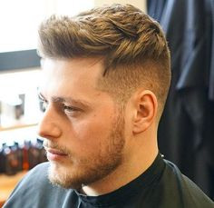 Men's short hairstyles are always on trend. Short haircuts can be as modern or classic as you like. There are plenty of established short men's haircuts like the buzz, fade and crew cut. There are also