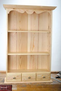 Saved Pine Shelves - tutorial