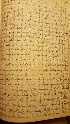 Lt Col William Dickinson's notes
