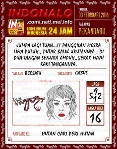 Prediksi Togel Online Indonalo Pekanbaru 3 Febuari 2016