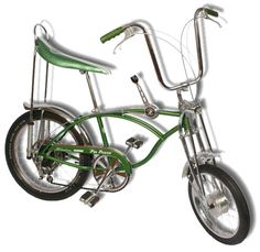3 Speed Bike, Banana Seat and handbrakes. With a name like Pea Picker on the side how could you not be cool?