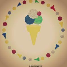 #gelato #gelati #icecream #eis #vintage #cute #gadget #DecograficGenova #estate #spiaggia