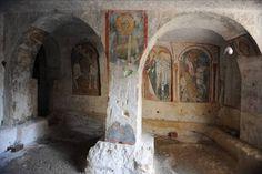 Chiese rupestri in Puglia: il rilievo con Laser scanner