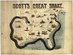 Scott's Great Snake, 1861