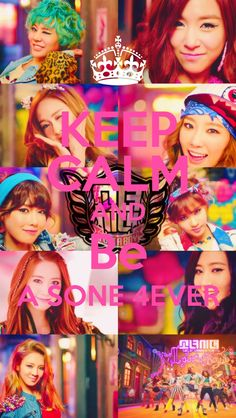 Keep calm and be a SONE 4ever
