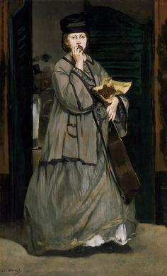 Sokak Şarkıcısı, 1862 dolayları, Museum of Fine Arts, Boston, ABD.