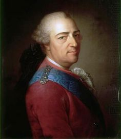 Louis XV King of France and Navarre, 1774 by Armand-Vincent de Montpetit