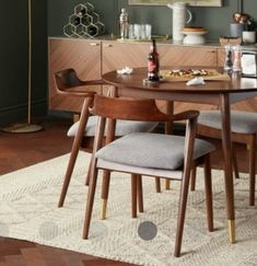 Mid-century Modern, Dining Chairs, Interior Decorating, Mid Century, Thoughts, Living Room, House, Furniture, Home Decor