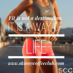 www.skinnycoffeeclub.com | Find a diet and training regime that is easy to stick to. A lifestyle change is what makes someone healthy! Double tap if you agree ❤️