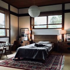 Japanese home decor is a little bit more than plain decorating a living space. It is about achieving a feeling … Japanese Style Bedroom, Japanese Home Design, Japanese Home Decor, Japanese Interior, Japanese House, Room Interior, Interior Design, Relaxation Room, Beautiful Living Rooms