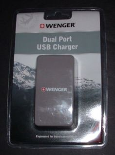 Wenger Dual Port USB Wall Charger USB Travel Charger   #Wenger