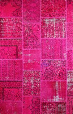 Vintage Patchwork Teppich - mozaiik Unikat Nr. 9TP