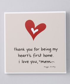 Take a look at this 'Mom' Plaque by My Soul's Window on #zulily today!