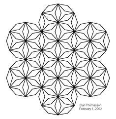 Gallery For > Simple Geometric Design Coloring Pages