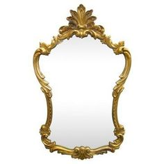 Check out this item at One Kings Lane! Carved Rococo-Style Mirror