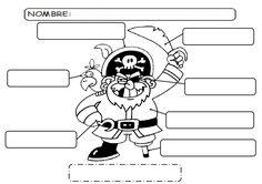 Proyecto piratas Pirate Face, Boys And Girls Club, Pirate Theme, Peter Pan, Crafts, Classroom Resources, Bingo, Google, Handmade