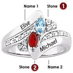 Mothers Rings I Like On Pinterest Mother Rings
