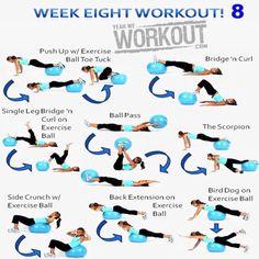 Yeah We Workout Week 8