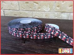 """5 Yards 7/8"""" HOUSTON TEXANS Football Grosgrain Ribbon New Bows, Crafts, Boutique Clothing"""