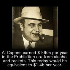 Al capones business card said he was a used furniture dealer al capone al capone facts colourmoves