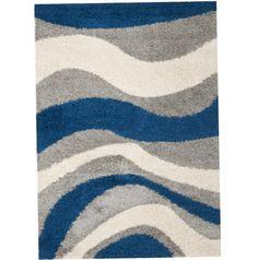 Blue And Gray Area Rug Blue Area Rugs, Contemporary, Gray, Home Decor, Blue Rugs, Decoration Home, Room Decor, Grey, Home Interior Design