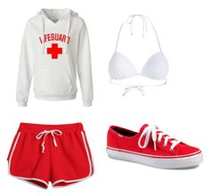 """""""Life guard"""" by kgotswagornah-1 on Polyvore"""