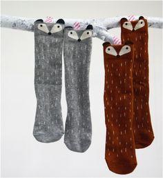 Raccoon Knee Socks - Mini Dressing