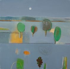 FIONA MILLAIS - Artist - Gallery Landscape Paintings, Landscapes, Modern Landscaping, Artist Gallery, Figurative Art, Abstract Art, Illustration Art, Nature, Artists