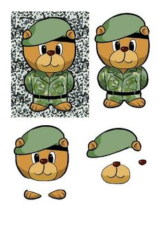 "We have just released the very first papers in what will become an ongoing series, the ""Craftville Bear"". The first set features our Army Bear and over the coming moth we will be covering different topics, all with the ""Craftville Bear"" in.  Hope you like them. Obviously, as with all of our papers, they are completely free to download and print."