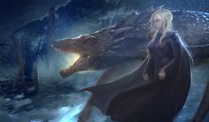 Mother Of Dragons Fanart by Meevaaa