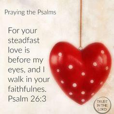 Psalm 26:3