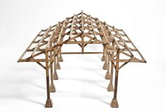 New wood structure architecture model ideas Timber Architecture, Japanese Architecture, Concept Architecture, Architecture Details, Architecture Diagrams, Architecture Portfolio, Autocad, Structural Model, Truss Structure
