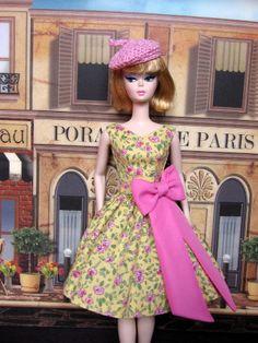 Rose Dress & Beret