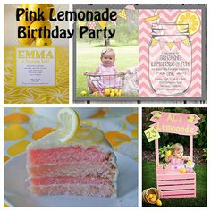 Pink Lemonade First Birthday Party Theme - Right Start Blog