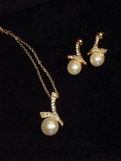 A personal favorite from my Etsy shop https://www.etsy.com/listing/176140912/70-christmas-sale-gold-pearl-set-of