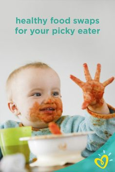 If you have a picky eater on your hands, try these healthy food swaps that can make dinner time more enjoyable for you and your baby!