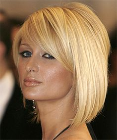 Love this long bob on Paris.like the subtle difference of side fringe and back angle