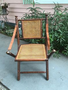 bamboo chair scorched bamboo frame folding kids chair with rattan