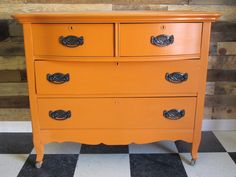Barcelona Orange Chalk Paint™ - PhantasticPhinds.com   Would be great for UT fans!