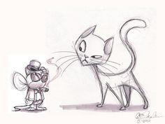 cat doodle - Google Search