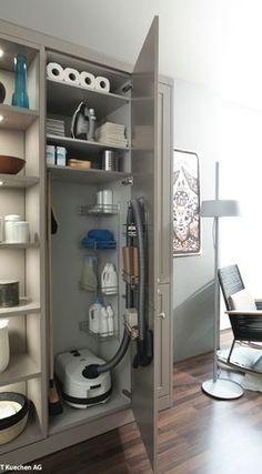 Interior Accessories - contemporary - pantry - minneapolis - Belle Kitchen design | build
