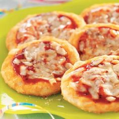 Kid-Size Pizza Recipe from Taste of Home
