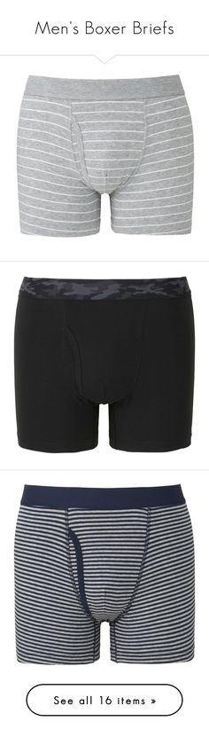 """""""Men's Boxer Briefs"""" by uniqlo ❤ liked on Polyvore featuring men's fashion, men's clothing, men's underwear, mens cotton boxer briefs, mens trunks, mens boxer briefs, mens cotton trunks, mens swim trunks, black and grey"""
