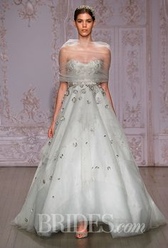 Monique Lhuillier Wedding Dresses Fall 2015 Bridal Runway Shows Brides.com | Wedding Dresses Style | Brides.com