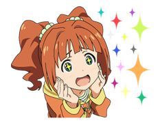 Stickers for the TV anime THE IDOLM are on LINE, and feature all the popular members of 765 Production. Now you can be their producer! Bandai Namco Entertainment, Line Store, Stickers, Enemies, Anime, Public, Community, Popular, Fictional Characters