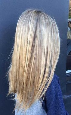 18 Hairstyles and Colors for Straight Long Hair: #8